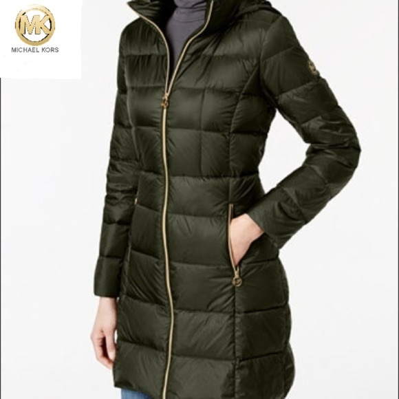 e2a7048fc ⭐️ Michael Kors ⭐️ Packable down puffer coat NWT